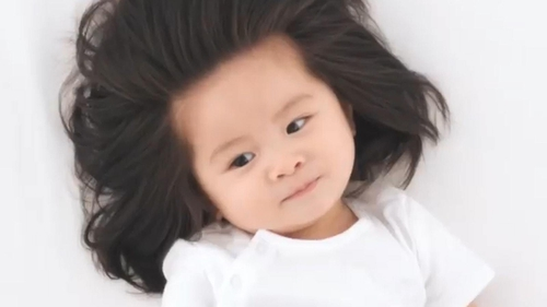 This Baby Has Hair So Incredible She S Now Starring In A Campaign