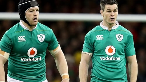 Sean O'Brien and Johnny Sexton should be fit for the Six Nations