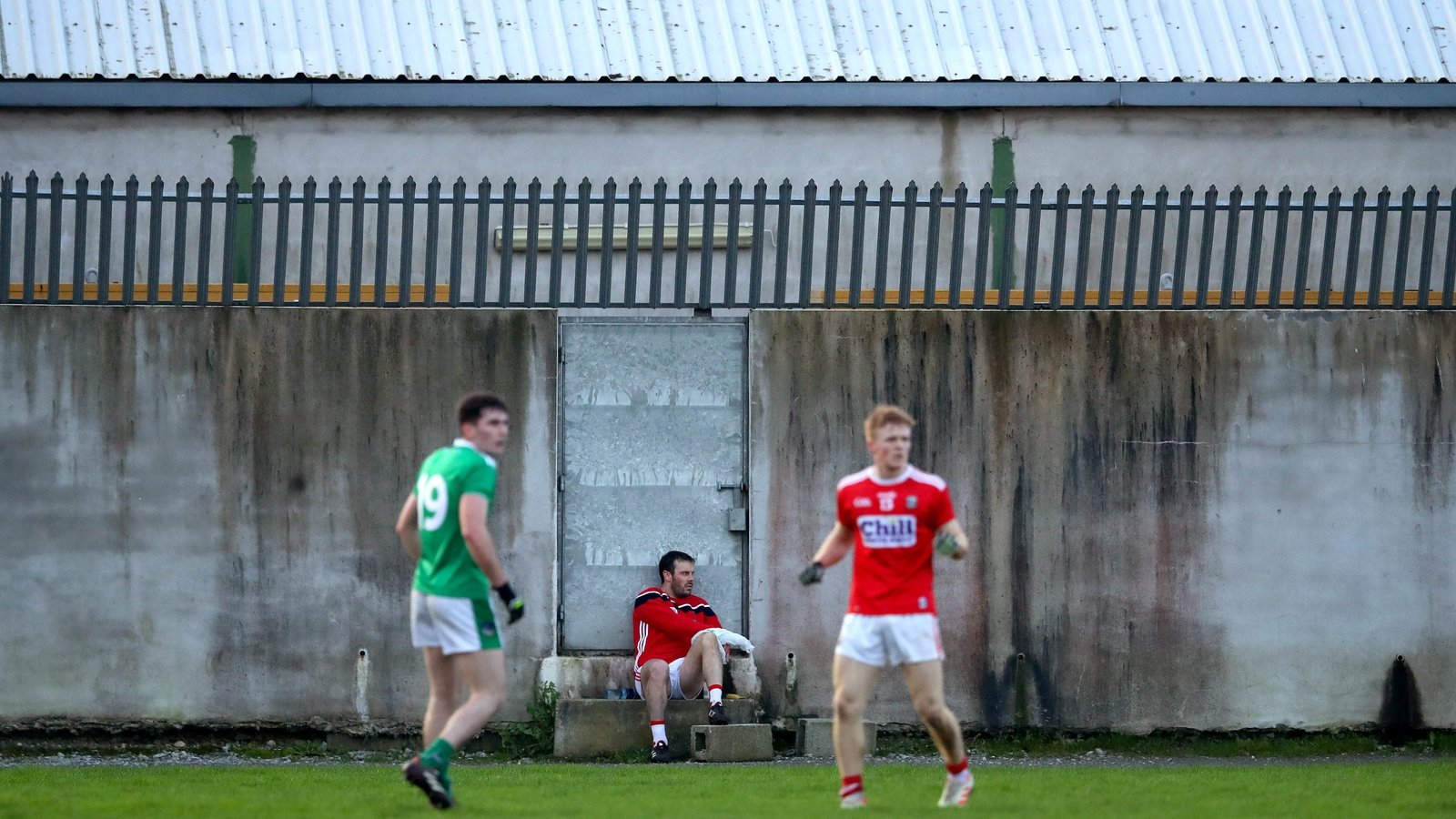Image - Limerick and Cork in a typically glamours pre-season venue