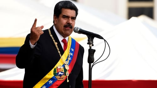 Nicolás Maduro was sworn in for a second six-year term