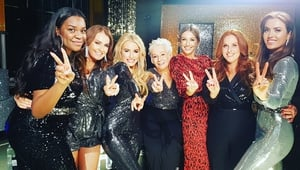 """Raring to go"" - The Dancing with the Stars ladies with Can't Stop Dancing host Bláthnaid Treacy Photo: Dancing with the Stars, Twitter"