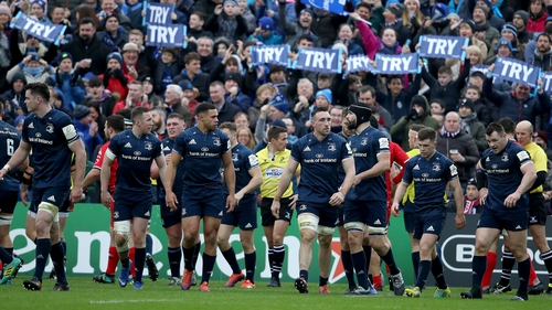 Leinster are looking for a win that will secure them a home quarter-final