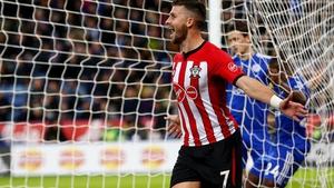Shane Long scored Southampton's second