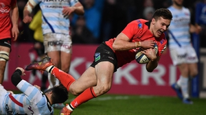 Jacon Stockdale has scored six tries in the Champions Cup this season