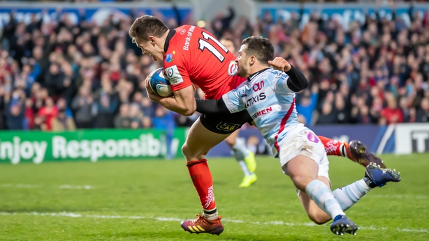 Ulster secure crucial victory over Racing 92