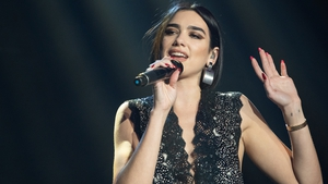 Dua Lipa leads the nominations for the second year running
