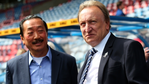 Vincent Tan wants to keep Neil Warnock