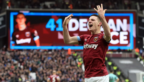 Declan Rice is a wanted man