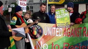 Organisers condemned racism directed at asylum seekers
