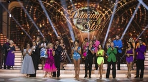 The contestants line-up for the show's second week