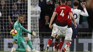 David de Gea was outstanding for the visitors