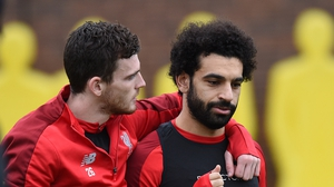'He's not that type of player,' Andy Robertson says Mo Salah is not a diver