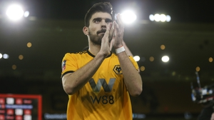 Man City have been linked regularly with Wolves' Portuguese midfielder Ruben Neves