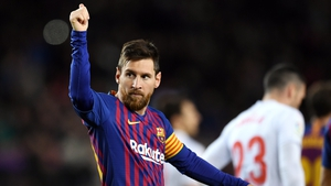 Leo Messi registered his 400th La Liga goal in his 435th appearance in the competition