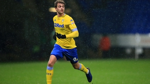 Bamford has scored one goal in an injury-interrupted debut season with Leeds United