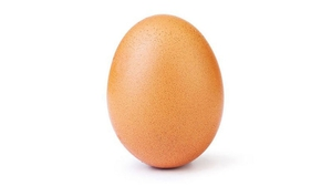 This simple photo of an egg has become the most liked post on Instagram