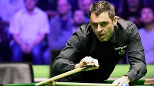 Ronnie O'Sullivan will meet Ryan Day in the quarter-finals
