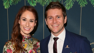 Jessica Blair Herman and Allen Leech