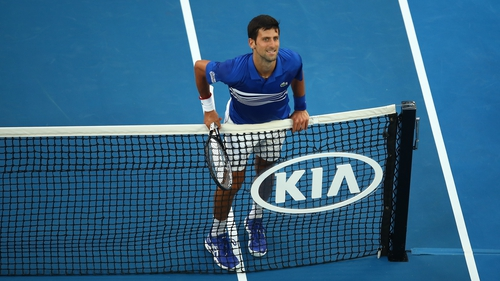Djokovic sweats it out to set up 2008 final rematch with Tsonga