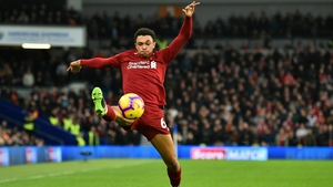 Alexander-Arnold sustained a problem in the warm-up ahead of Saturday's win at Brighton but played the full 90 minutes and it is understood to have tweaked ligaments