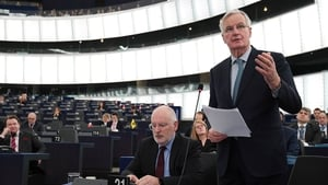 Michel Barnier said the backstop must remain