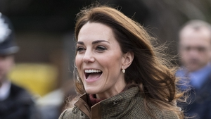 Kate Middleton continued the royal love affair with Irish brands. Photo: Getty