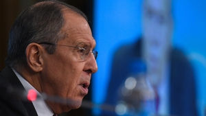 Sergei Lavrov was speaking to his US counterpart Mike Pompeo