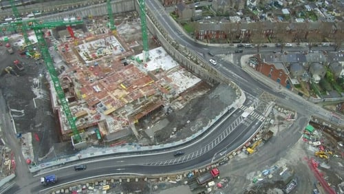 The new National Children's Hospital under construction at the St James's Hospital site