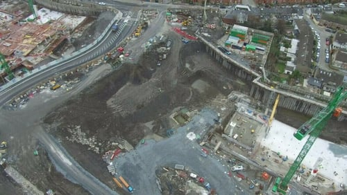 New children's hospital is being built on the St James's Hospital site