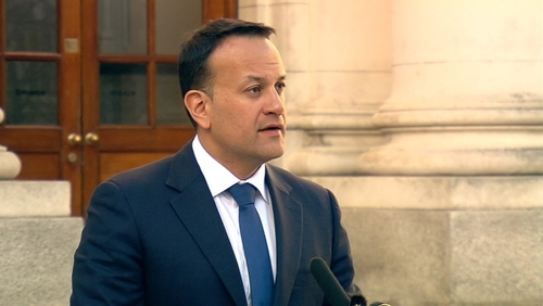 Leo Varadkar said Irish plans for a no-deal Brexit are continuing and are no longer contingency