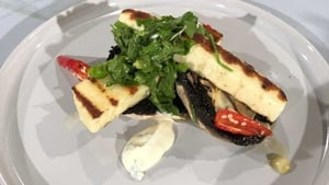 Kevin Ahearne's Chargrilled Halloumi: Today