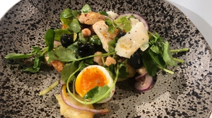 Niall Siabongi's Salt Cod with Chickpeas & Lemon Potatoes