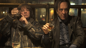 Richard E Grant with Melissa McCarthy in Can You Ever Forgive Me?