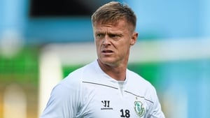 Damien Duff moved from Shamrock Rovers to Celtic