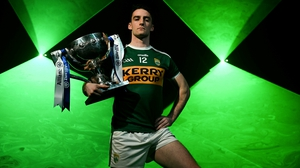 Stephen O'Brien at this year's league launch