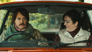 Will Forte and Maeve Higgins in Extra Ordinary - the supernatural comedy will be in cinemas later this year