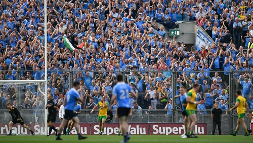 Croke Park was ostensibly neutral for the round-robin tie between Dublin and Donegal last season, a game which Dublin won 2-15 o 0-16