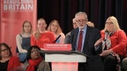 Jeremy Corbyn was speaking at a Labour party rally in Hastings