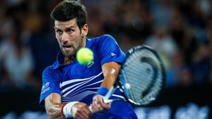 Novak Djokovic is seeking a third successive Grand Slam title and a record seventh Australian Open