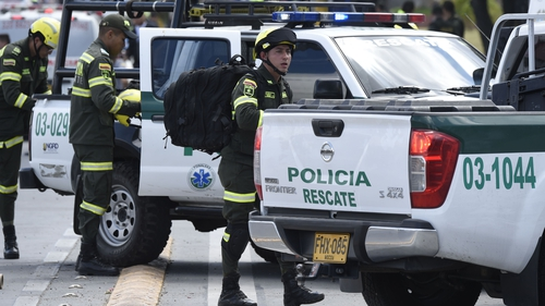 Dead, Dozens Hurt in Car Bomb Explosion in Colombian Police School