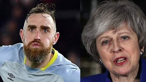 Richard Keogh's winning penalty was a clear winner over Theresa May's speech