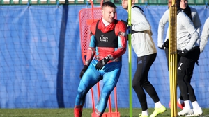 Jamie Vardy trained in full Spiderman kit