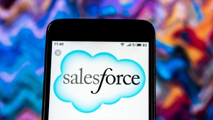 Salesforce shares rose by nearly 15% after its strong results last night