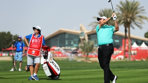 Shane Lowry fought back on Sunday to secure success in Abu Dhabi