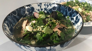 Mussel and miso broth