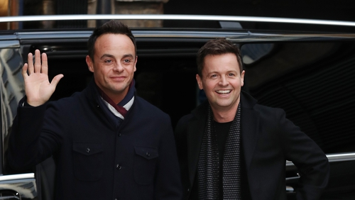 BGT hosts Ant and Dec