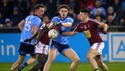 Westmeath's Ronan O'Toole with Cormac Howley of Dublin