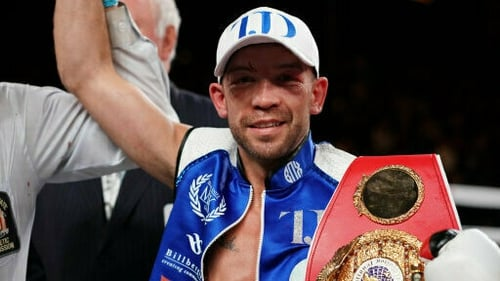 TJ Doheny is looking to add a second world title