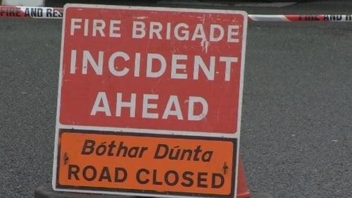 Fire services are attending the scene (file pic)
