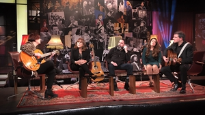 Eleanor McEvoy, Mary Black, Phelim Drew, Aoife Scott  and Fiachna O Braonain launch Ireland's Favourite Folk Song on The Late Late Show
